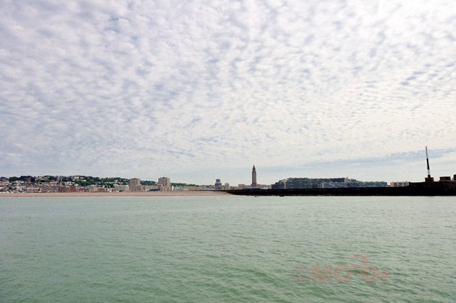 Le Havre from the Sea